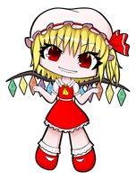 Chibi Flandre by Jakly