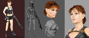 Lara Croft's sister