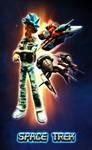 Space Trek Poster