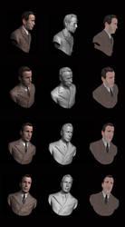 Humphrey Bogart - Zbrush