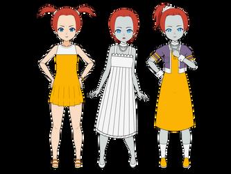 Rascally Girl: Re-lived Girl by adimetro00