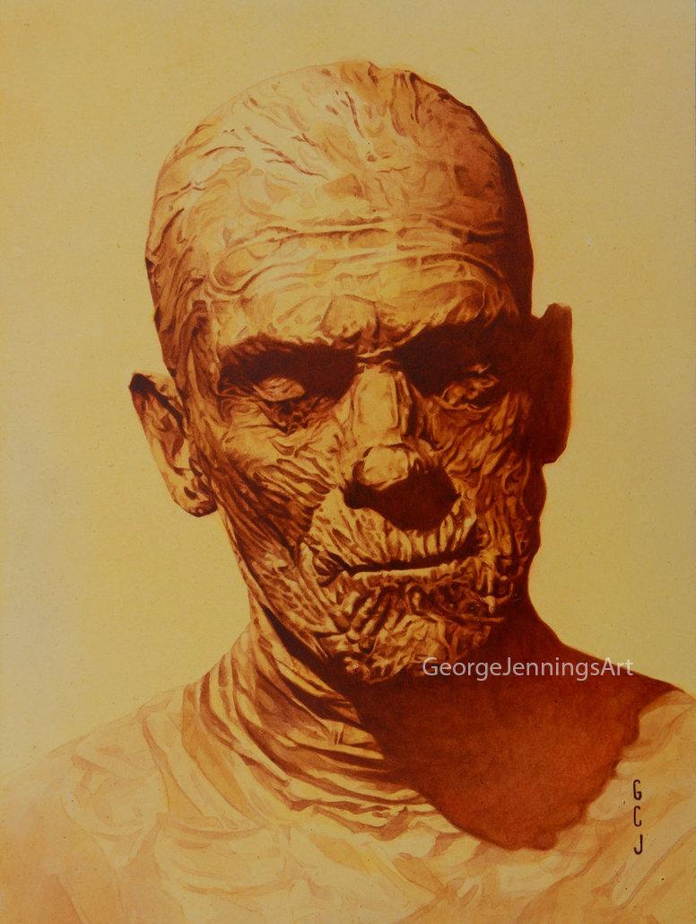 Frankenstein Painting Art