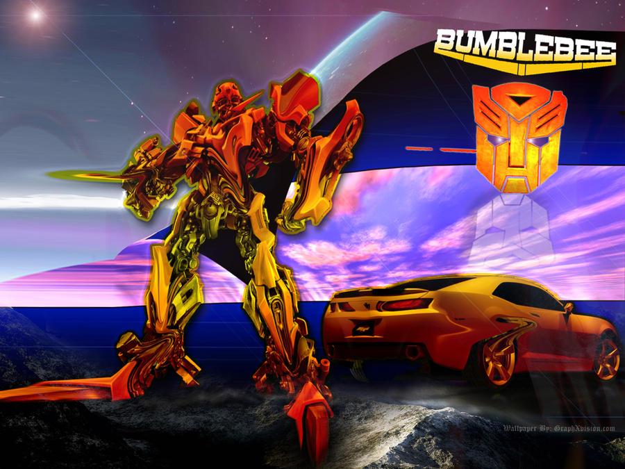 bumblebee wallpaper by graphxvision on deviantart