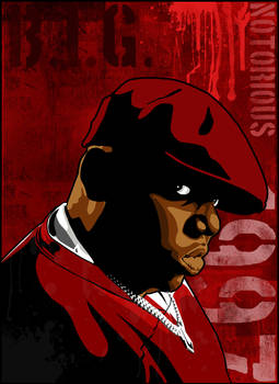 Biggie Vector Red