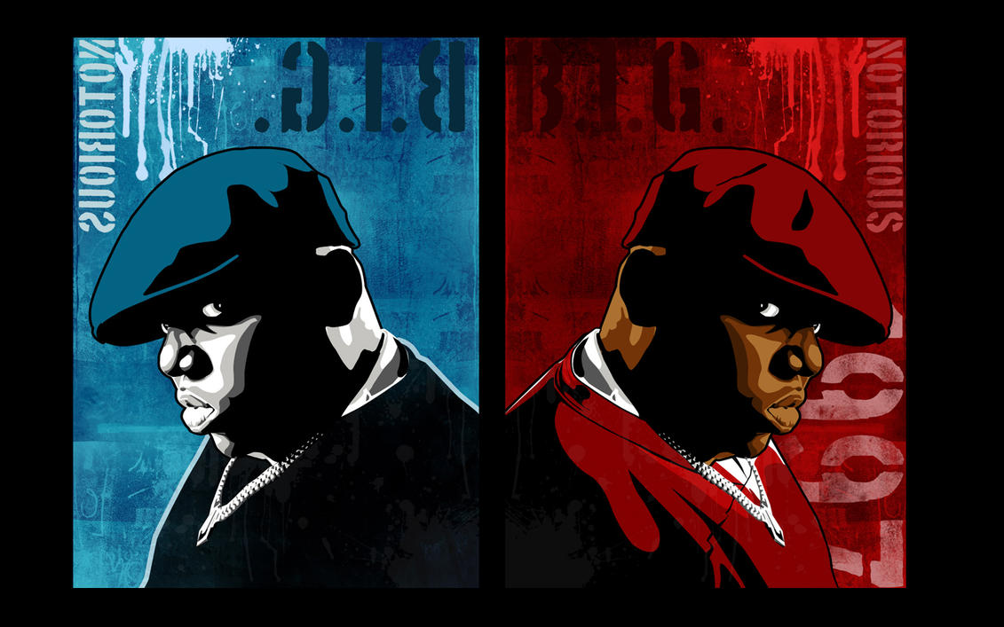 Biggie Vector wallpaper by ~vikesh87 on deviantART
