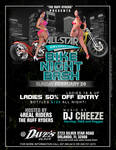 All Star Weekend 2012 Bike Night Flyer