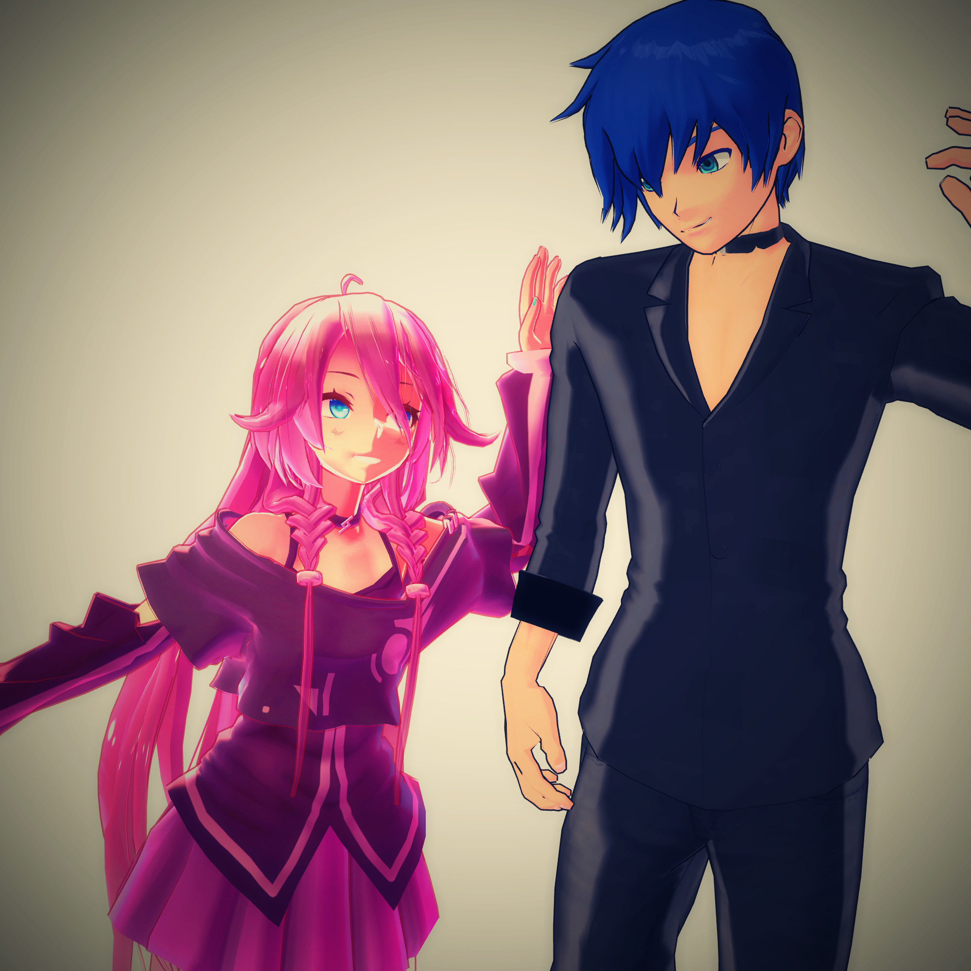 IA And Kaito By ShinigamiNote