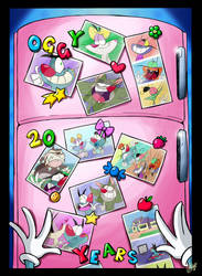 20 Years of Oggy! by LeleStar