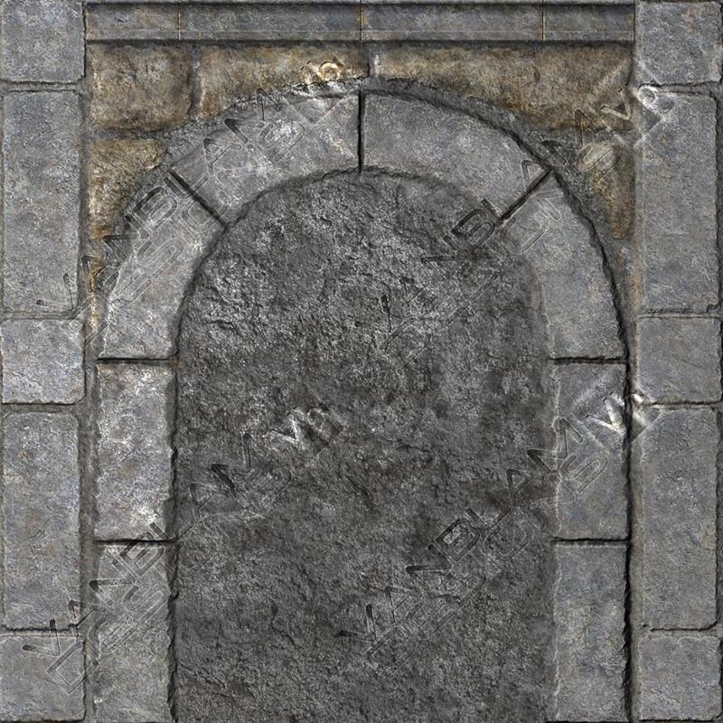 Stone door way by vanblam on deviantart for Door of stone