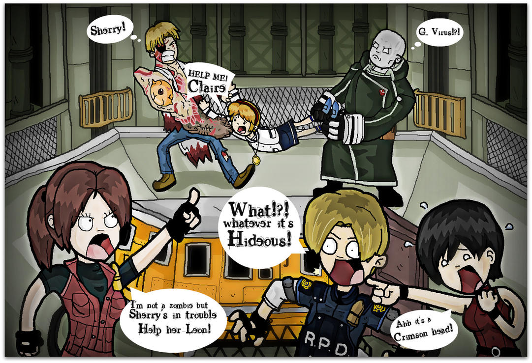 Dilemma at Raccoon CIty by atwyatt