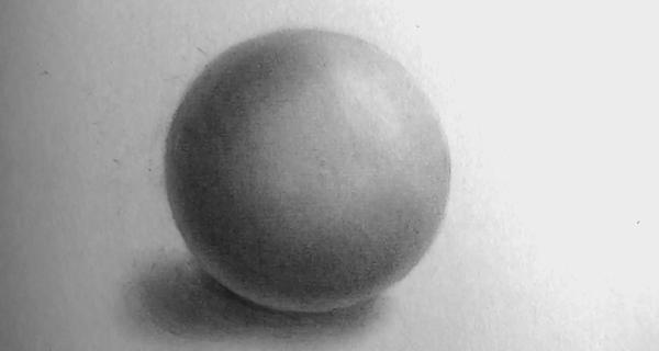 how to draw a sphere easy