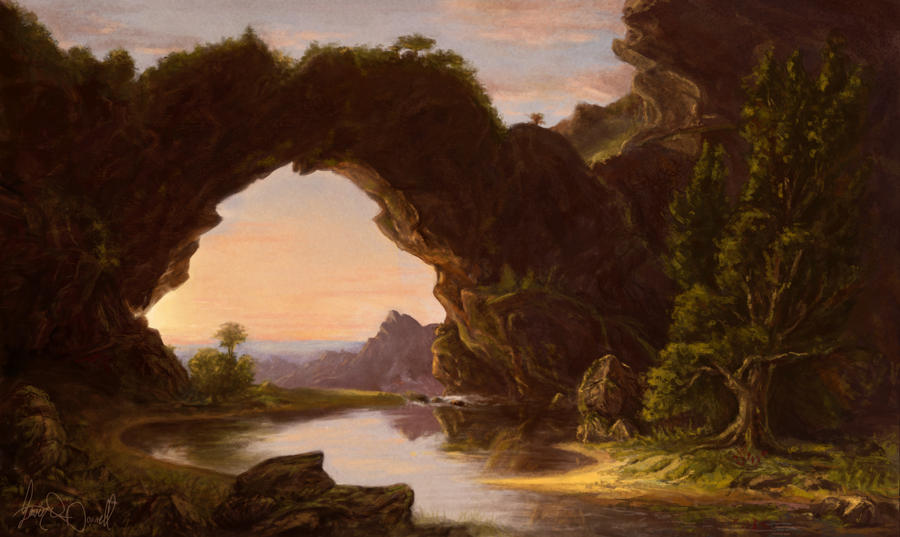 Thomas Cole Study by XeNzO