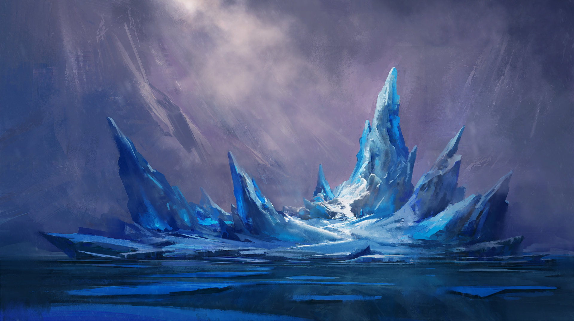 Glacier by gavinodonnell