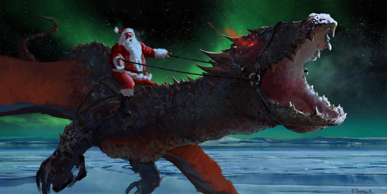 Santa's Present by gavinodonnell