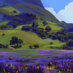 William Wendt Study by gavinodonnell