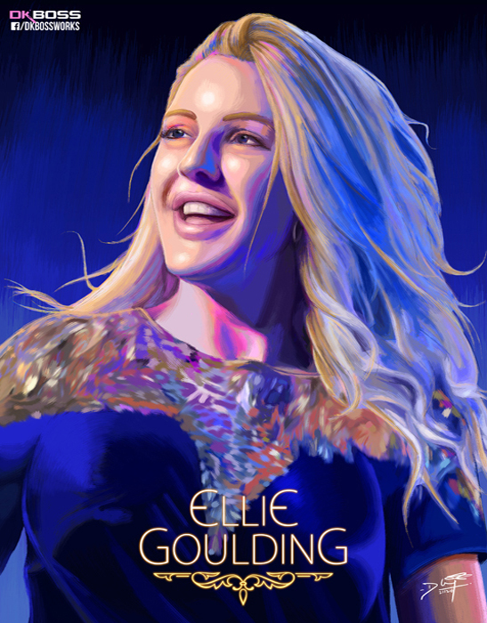 Ellie Goulding by perfectionist7