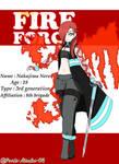 [ENS/FireForce OC] Nakajima Nero