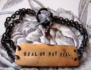 The Hunger Games Real OR Not Real Bracelet