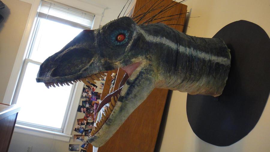 Jurassic Park III Velociraptor Head by RyFree on DeviantArt