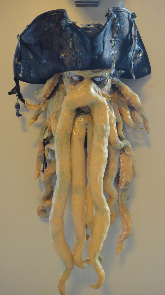Davy Jones Head by RyFree on DeviantArt