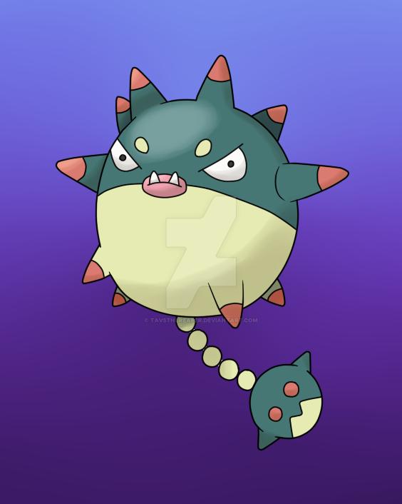 Mega qwilfish