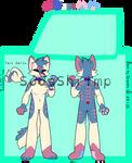 Trans Husky Adoptable! CLOSED