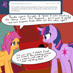 Pregnant Scootaloo Update: September 10th