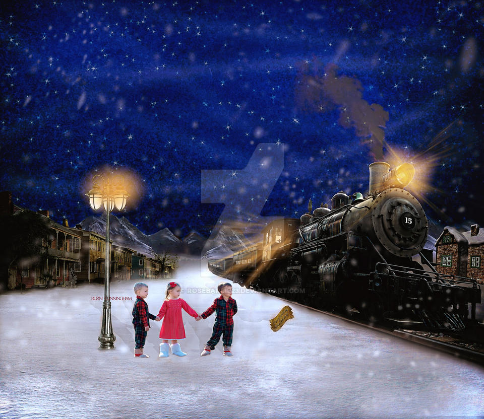Polar Express by rosebarbie23