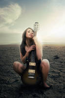 the last guitarist by art217