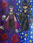 Halloween night by LovelyPrincessN64