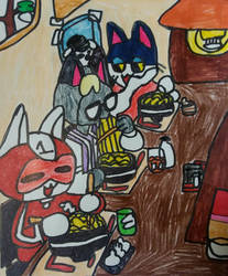 Ramen feast by LovelyPrincessN64