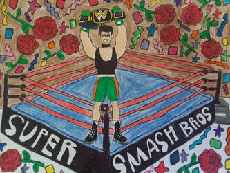 Little Mac the winner champion by LovelyPrincessN64