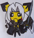 The One Winged Pichu by LovelyPrincessN64
