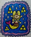 Chibi mermaid Zelda by LovelyPrincessN64