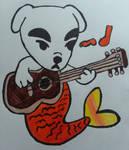 KK Slider the musical merdog