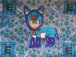 Dog suit Megaman X by LovelyPrincessN64
