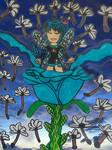 Birth of a blue fairy by LovelyPrincessN64
