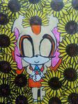 Sleeping in sunflower by LovelyPrincessN64