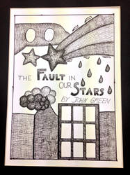 'The Fault in Our Stars' Cover Illustration