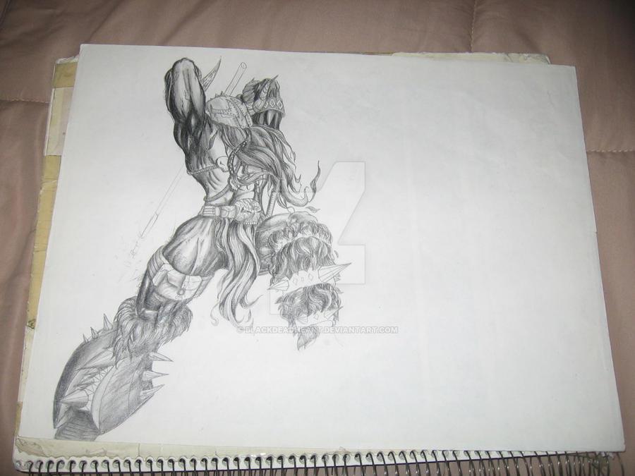 Viking Spawn by BlackDeadHeart