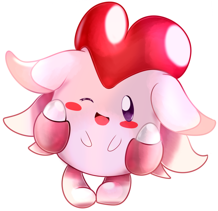 Blissey [from alpha version of Pokemon Gold] by Kspmill