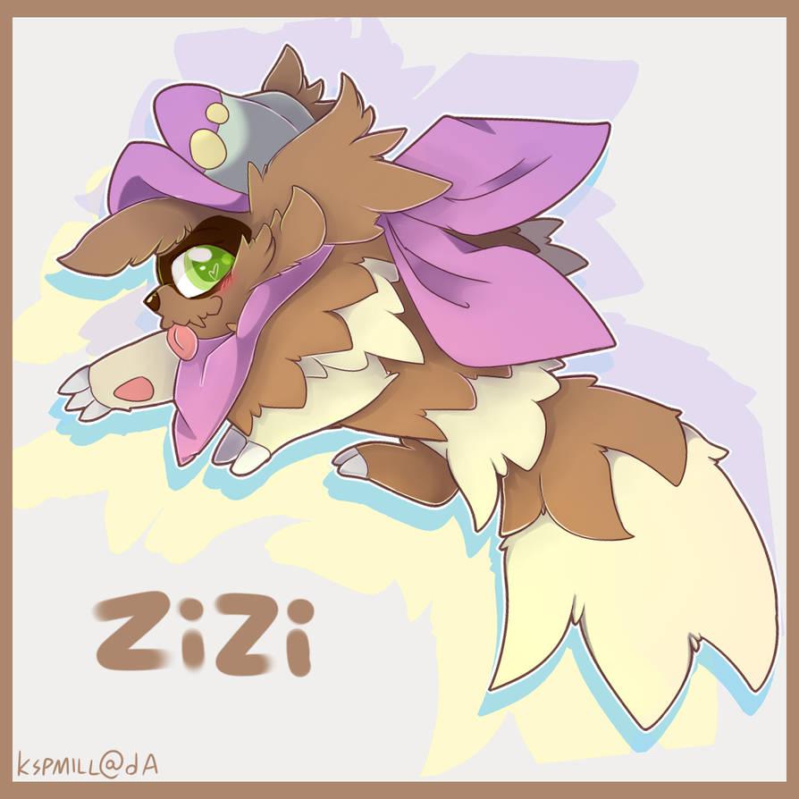 Zizi, the artistic zigzagoon by Kspmill