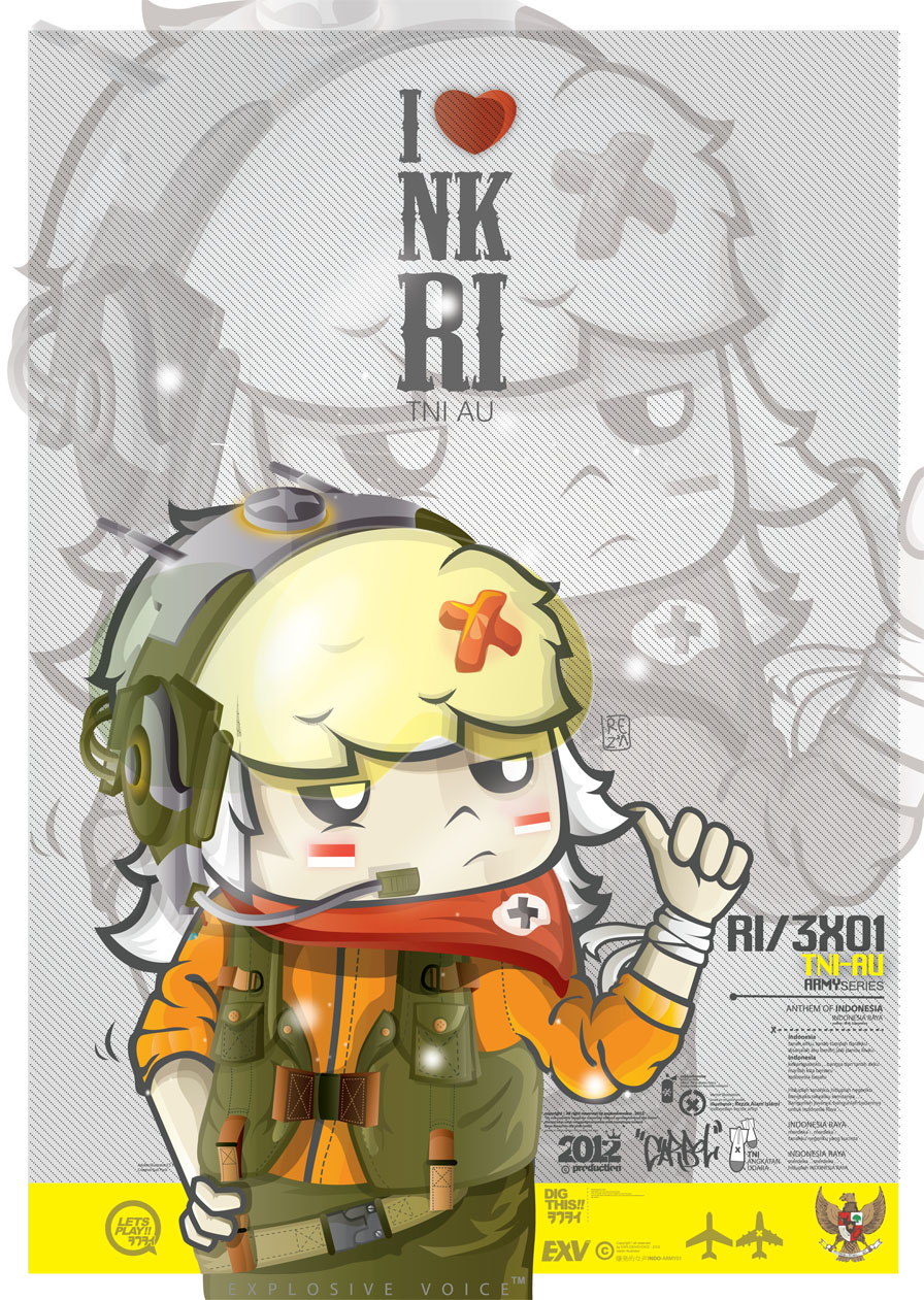 exv : TNI AU karbol by explosivevoice