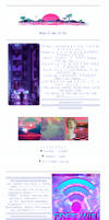 Non-Core Page *Vaporwave* by SarahChanCandy