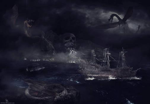 Lost in dragon's ocean