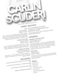 My Resume by scuderi