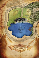 Map of Hogwarts Grounds and Environs by Nephilim-Phoenix