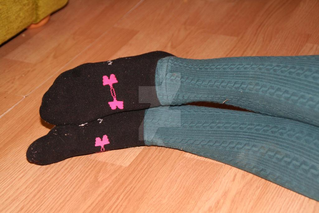 socks over tights by mistressaura125