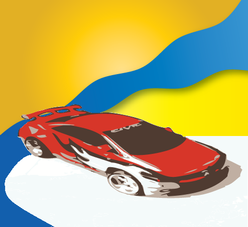 Car (Vectorized) by DjWorld01