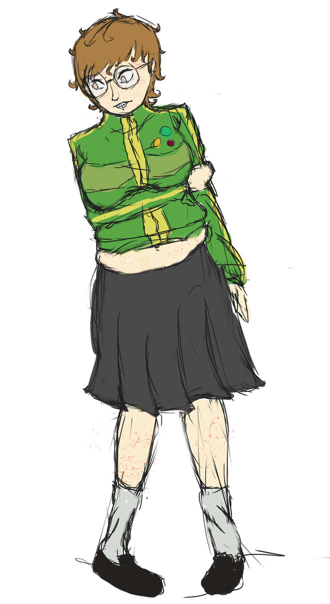 Chie Nerd TF/WG by undeadpenguin37